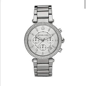 Michael Kors MK5353 Ladies Silver Watch
